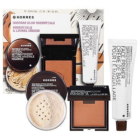korres goddess glow collection