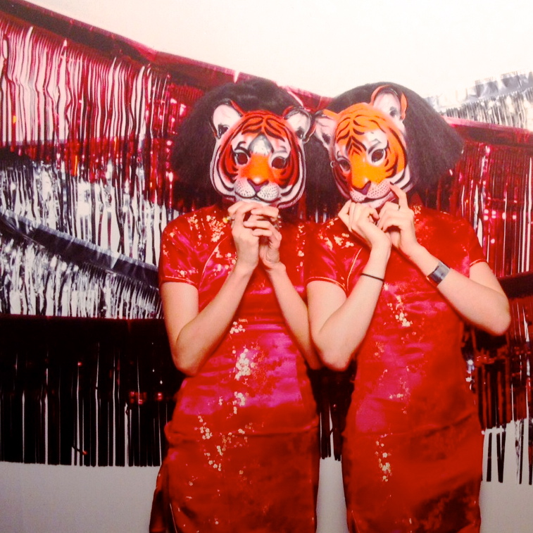 tiger beer girls mask