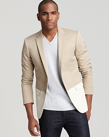 Michael Kors Color Block Blazer