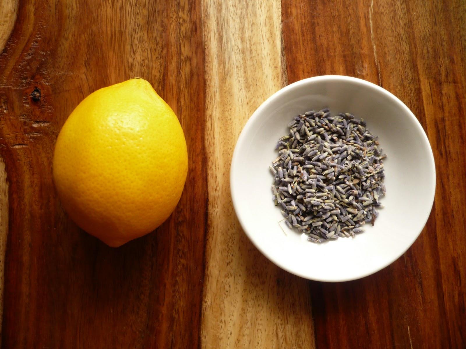 meyer lemon lavender muffins