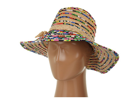 Kate Spade New York Printed Piping Sun Hat
