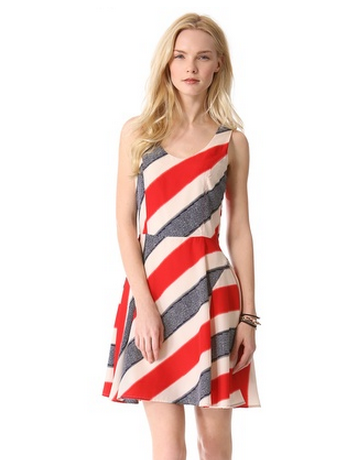 BB Dakota Gwyneth Stripe Dress