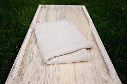 wooden casket r