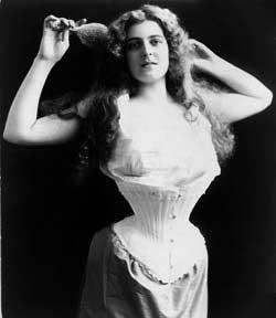 corset bw