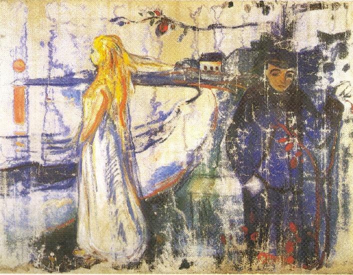 Edvard Munch - separation (1894)