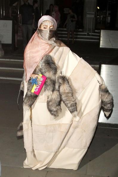Lad Gaga in a Burqa