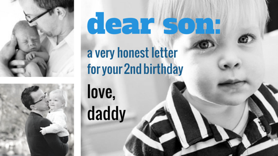 second birthday letter instafather