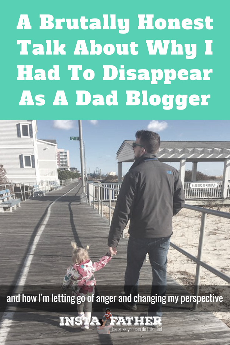 Why this dad blogger came to grips with depression and anger to help become a better dad. | instafather.com