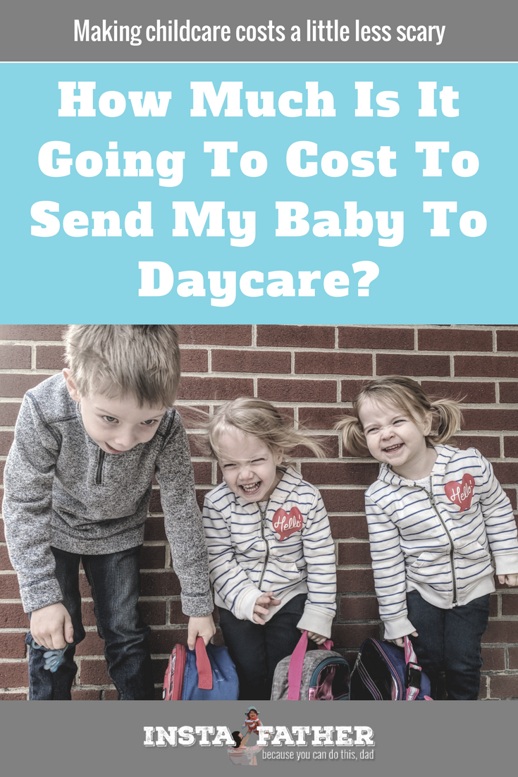 """While my son's """"scary"""" face might not scare you, childcare costs certainly can. Here are four tips to help reduce them and an idea of what others are paying. 