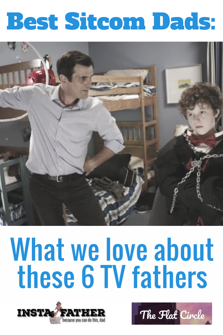 What sitcom dads have made the best last impression and helped shape what we know about fatherhood? Instafather and Flat Circle Blog took a crack at it.