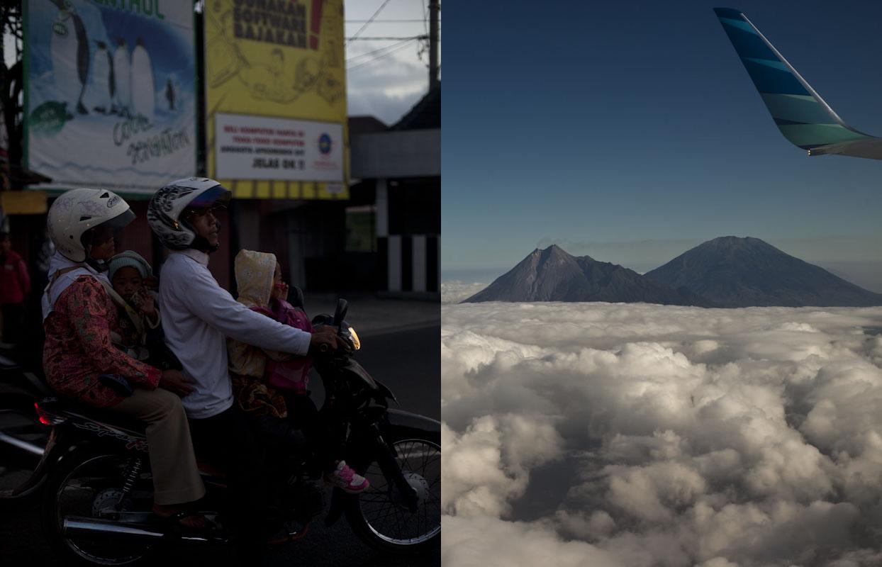 Morning commute, Yogyakarta, Indonesia.