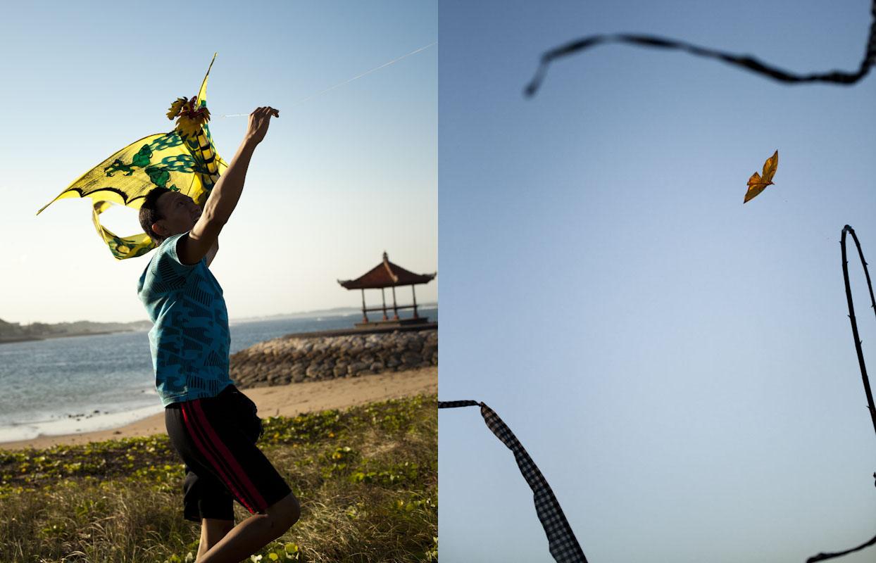 Go fly a kite, Bali