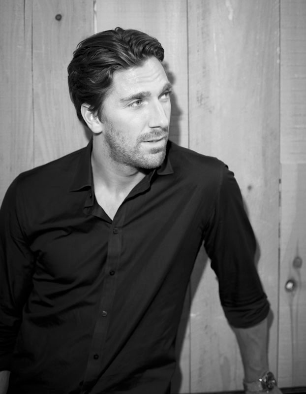 Henrik Lundqvist of the NY Rangers for Time Out New York's fall fitness issue