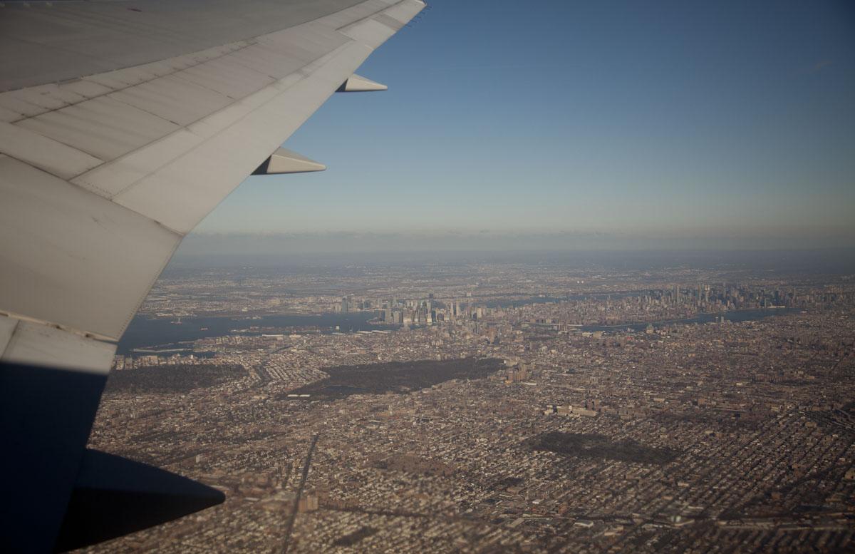 AA001 JFK to LAX