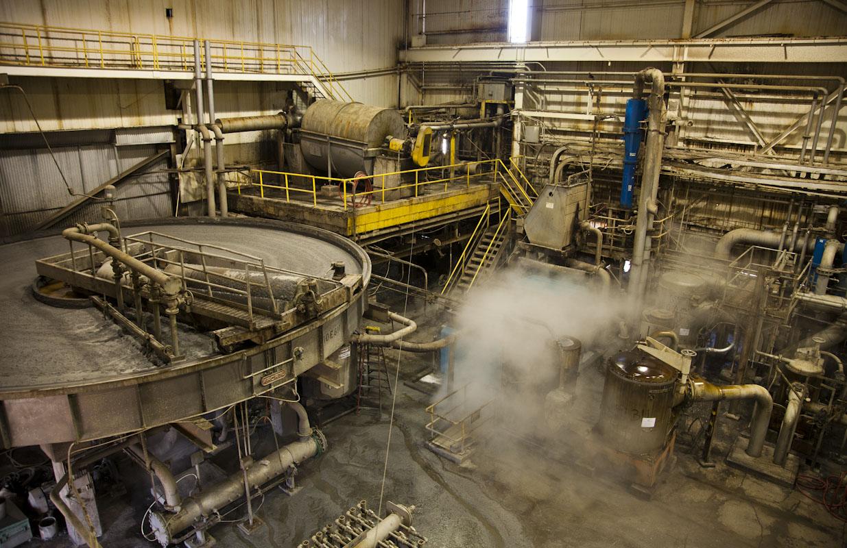 Recycling paper at Pratt Industries,Staten Island