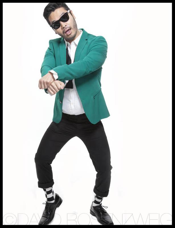 Peter doing Gangnam Style