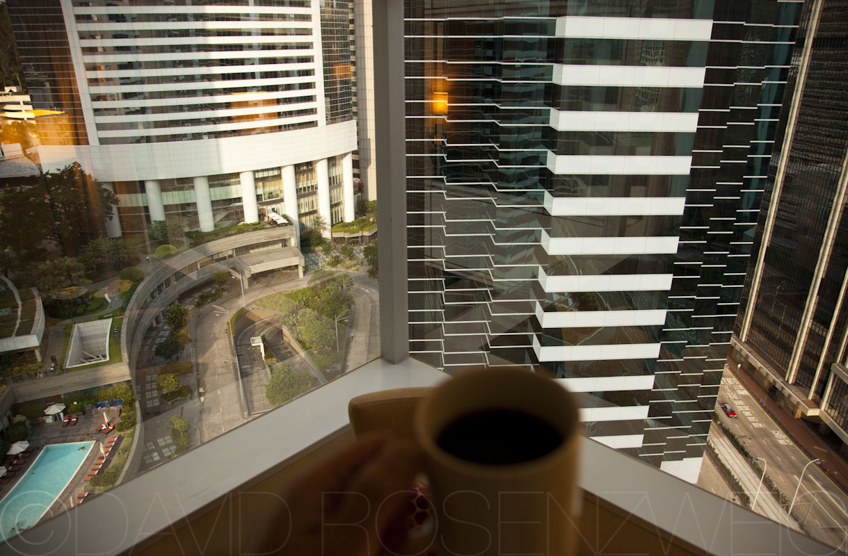Coffee with a view   Room 2323, Hong Kong