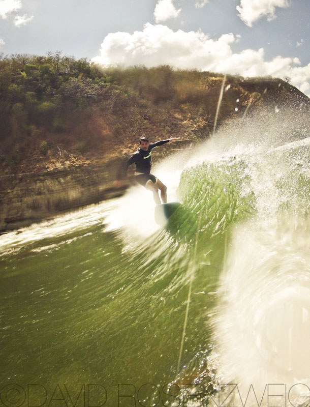 Ken ripping it up in Nicaragua
