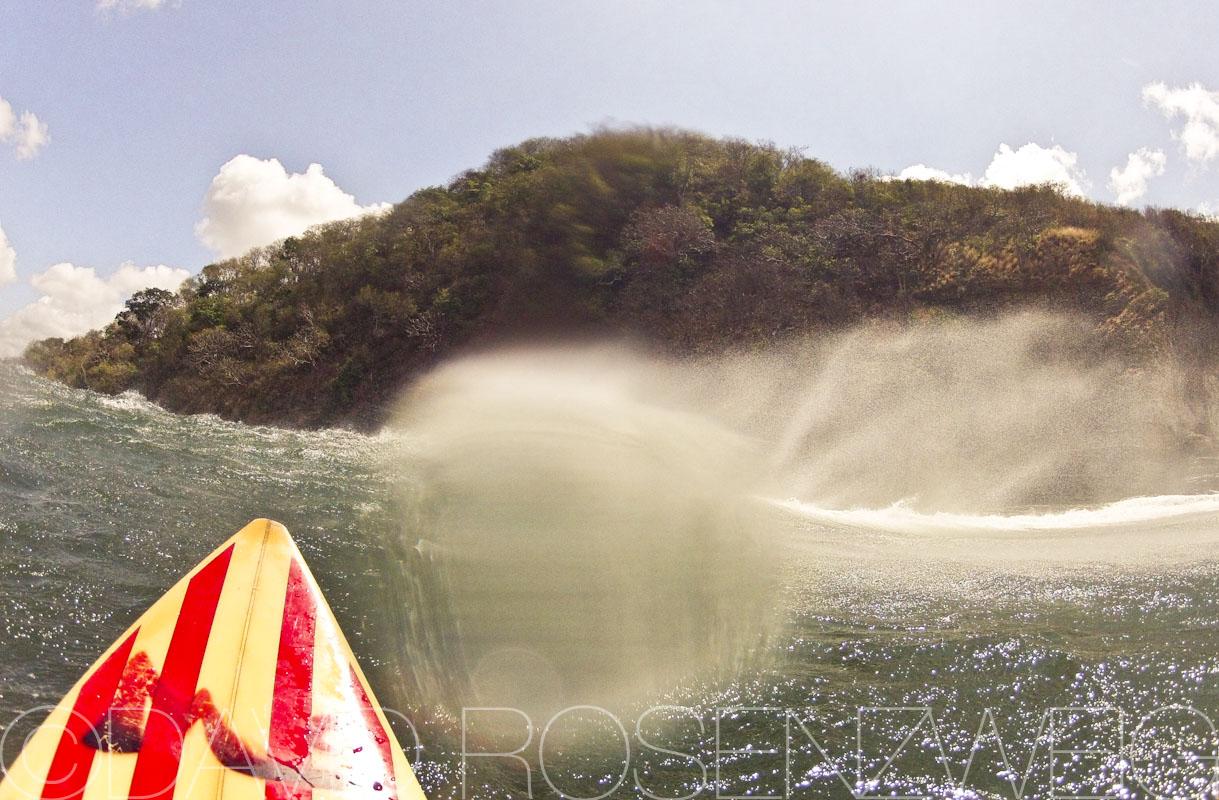 Surf's up, Nicaragua