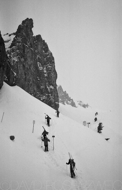 Jackson Hole headwall