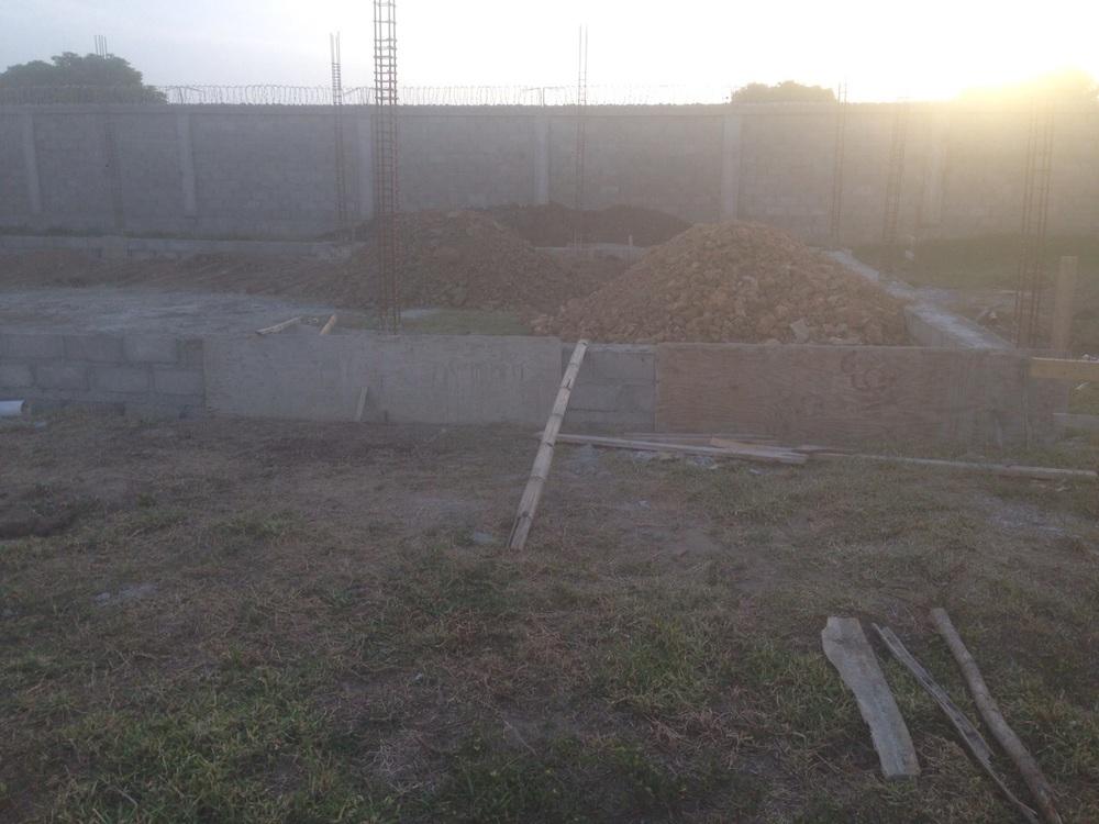 Carport foundation