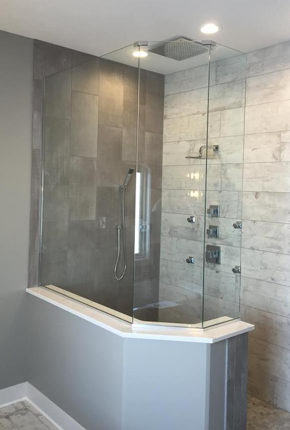 Glass Shower Doors — Elite Glass Services