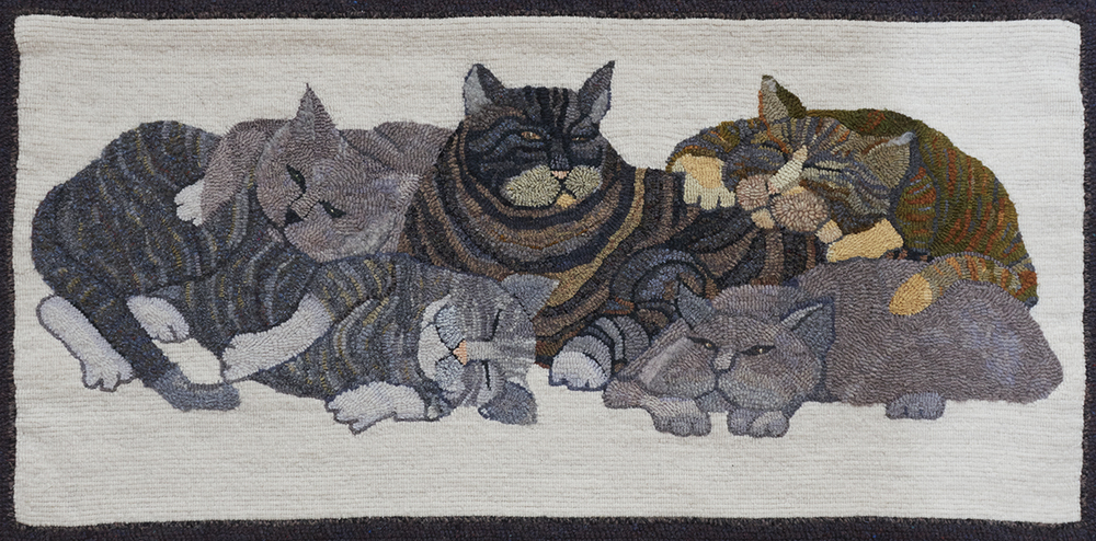 Lazy Grey Cats, A Barbara Lavallee Adaptation   Published OHCG Newsletter, Fall 2012
