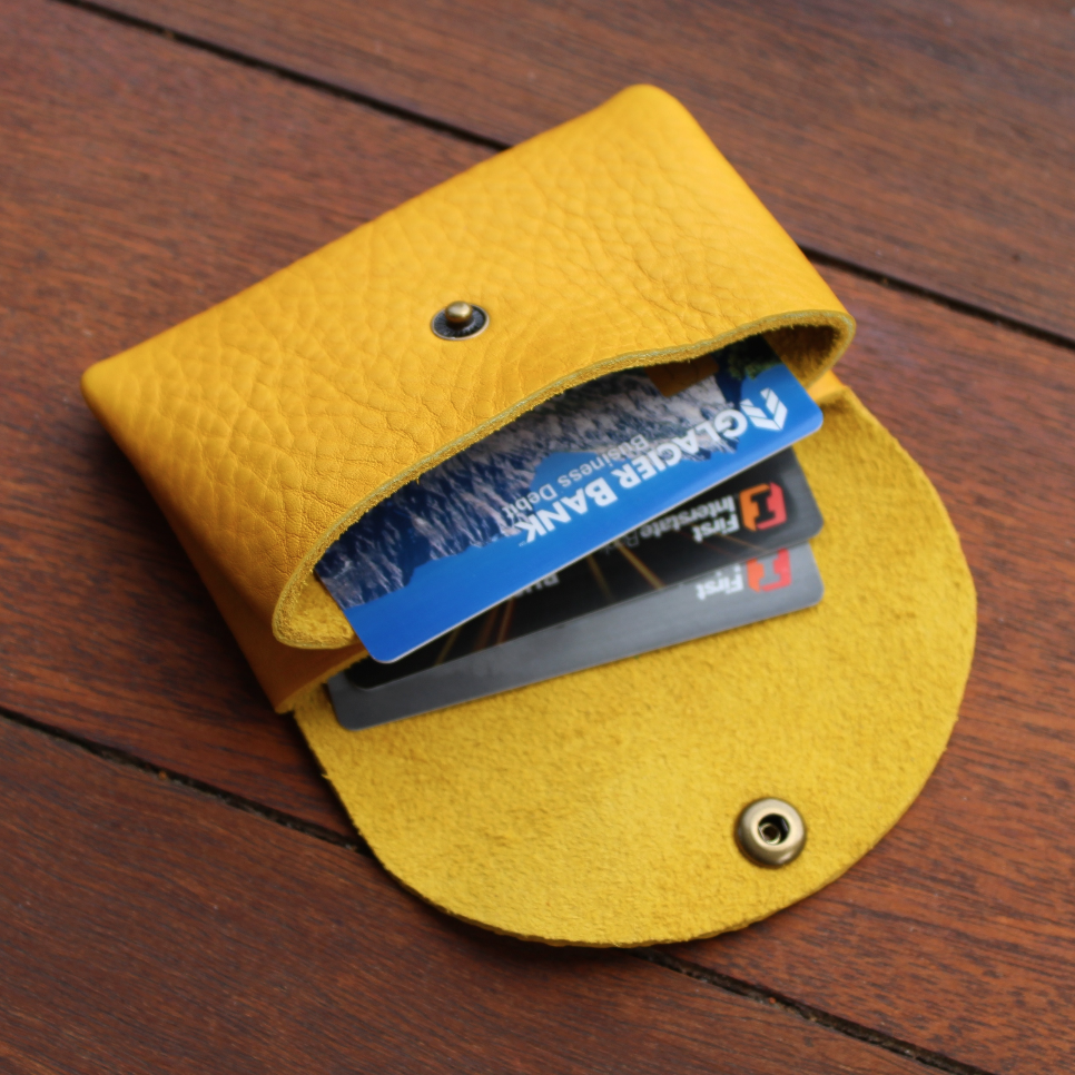 Origami Wallet - Canary