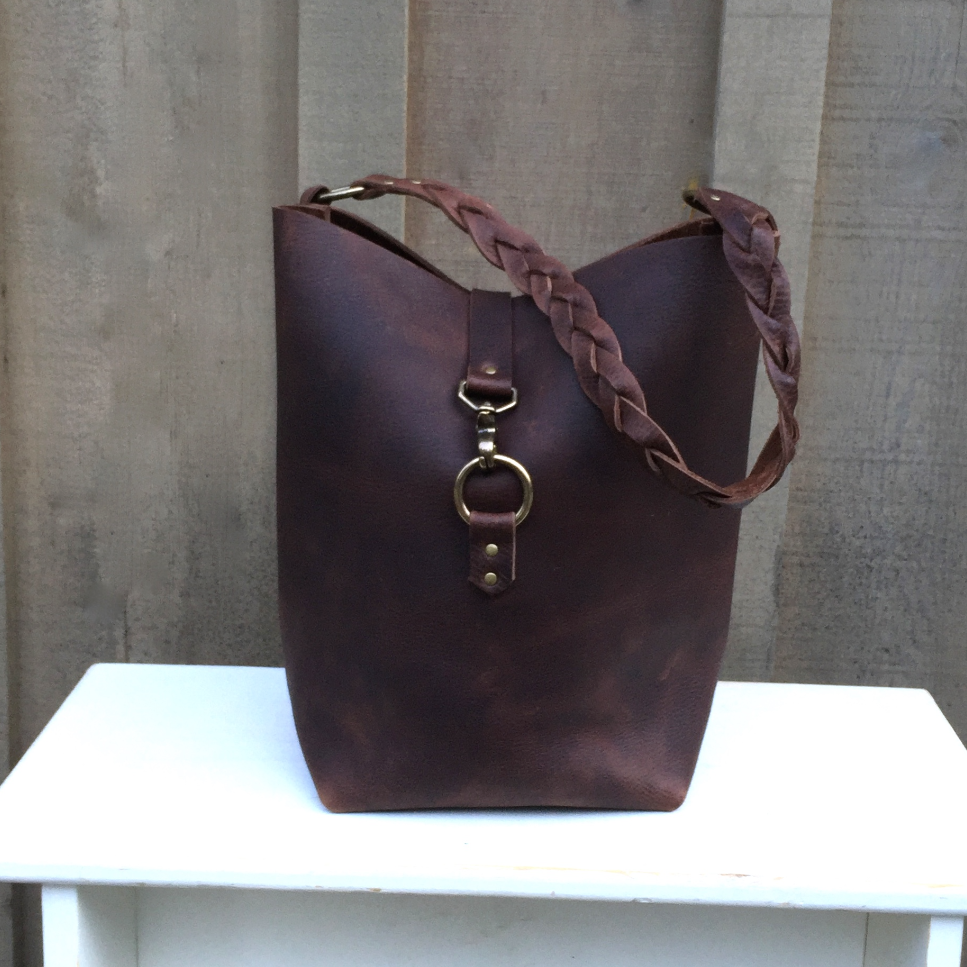 South Fork Tote - Chocolate