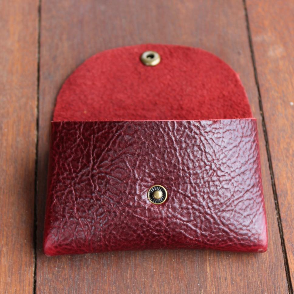 Origami Wallet - Cherry Buffalo