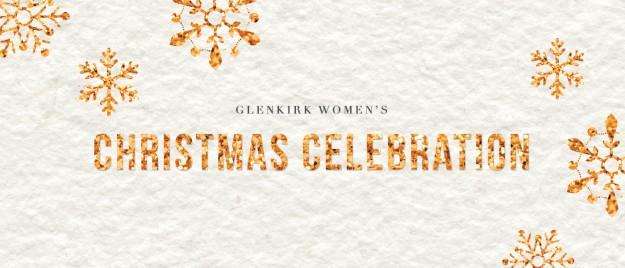 WOMEN'S CHRISTMAS CELEBRATION Saturday, December 06, 2014, 10:30 AM - 1:30 PM Location: Sheraton Fairplex Conference Center, 601 West Mckinley Ave., Pomona, CA US 91768 Cost: $35.00 Download: Download Event Join us for a wonderful morning and lunch on Saturday, December 6 at the Sheraton Fairplex in Pomona, featuring guest speaker Megan Marshman. Festivities begin at 10:30AM. Come spend time with friends or family while enjoying social hour, shopping and music. Luncheon program begins at 12:00PM. Tickets are $30 prior to November 17 and $35 thereafter. Register online HERE or register in person on the Glenkirk patio November 2nd and 9th. [Online registration closes Friday, November 21. ]