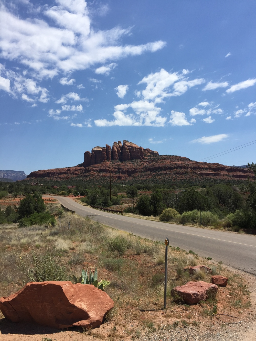 Picturesque landscape of Sedona, Arizona. Photo by Ryan Lammie, June 2016.