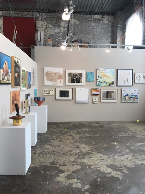 View of the exhibition at FrameHouse & Jask Gallery which ran October 20th - 30th, 2017.