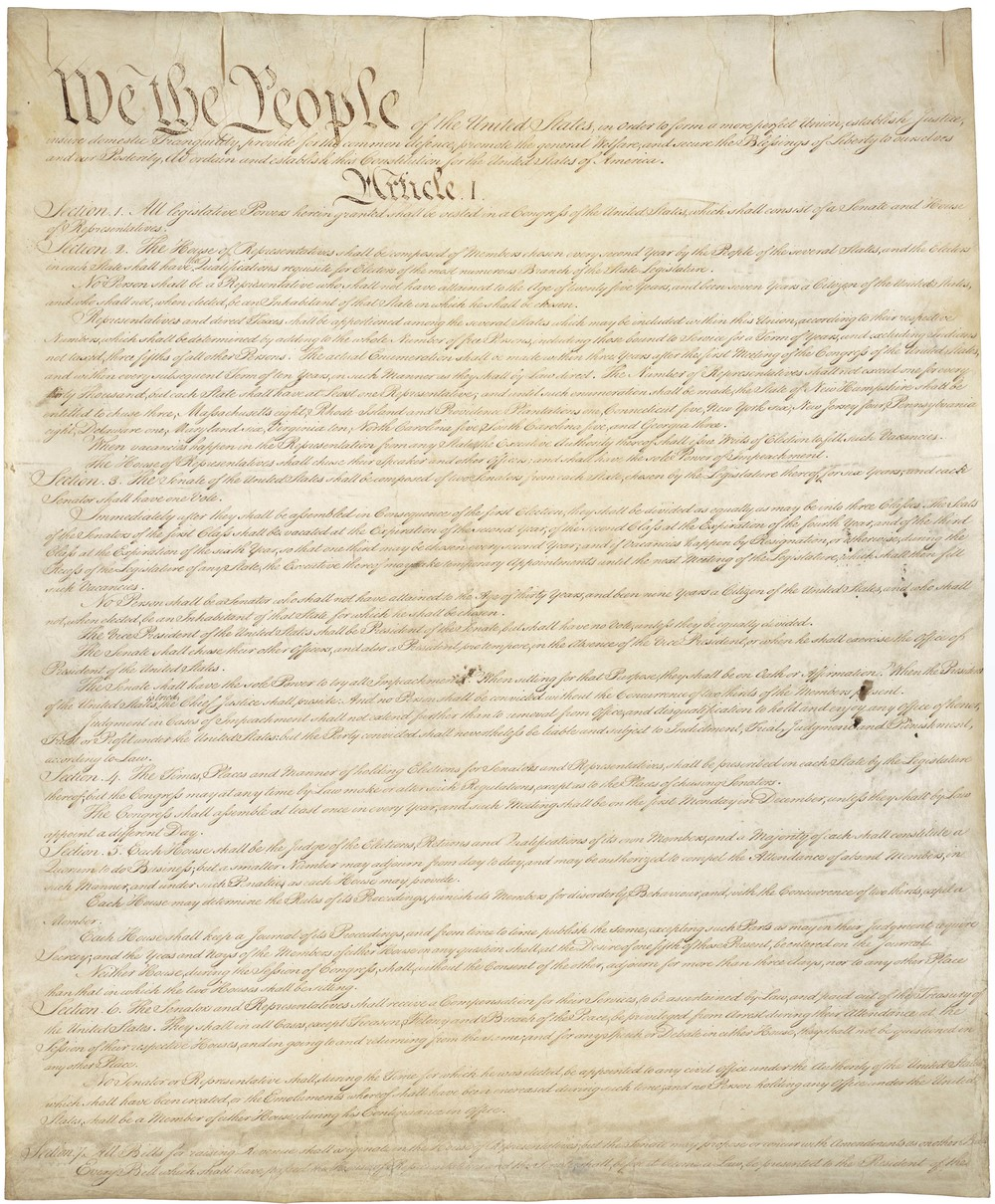 Democracy: US Constitution (Three-Fifths...)