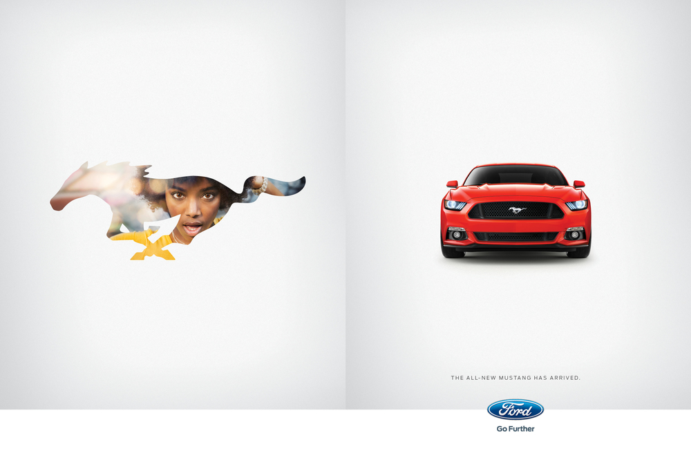 January 2015 Ford Mustang Spread