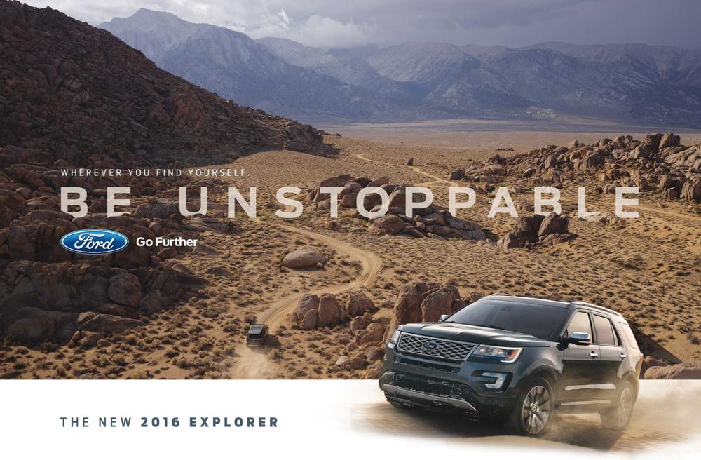 October 2015 Ford Explorer Spread