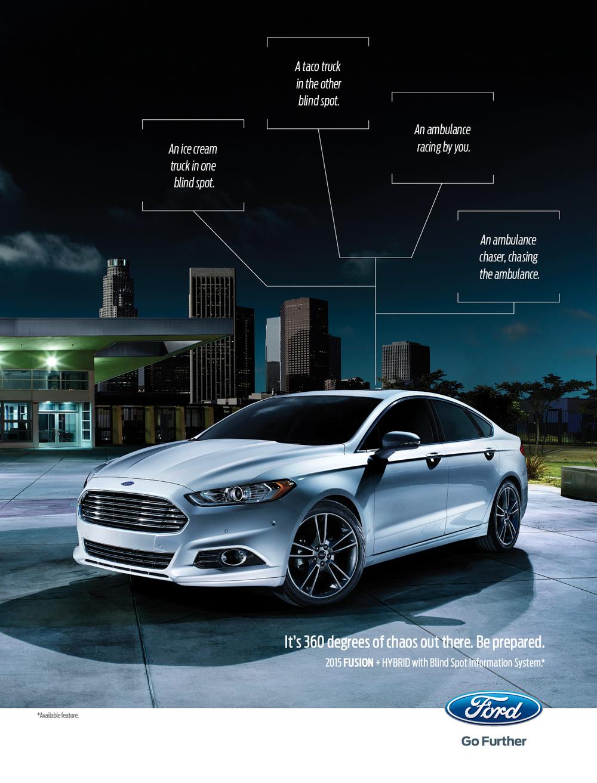 November 2014 Ford Fusion Ad