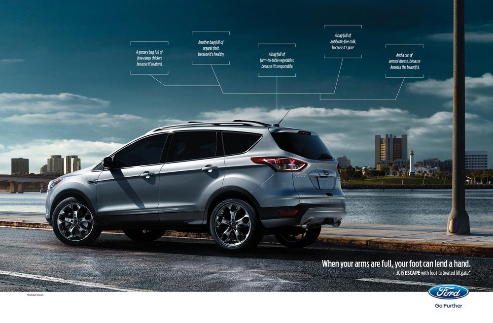 October 2014 Ford Escape Spread