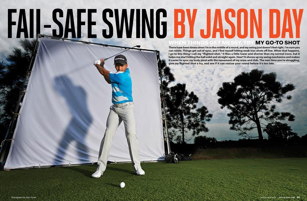Golf Digest, September 2014