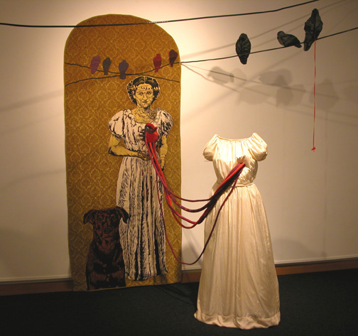 As the Ravens Watch, Exploring the Oracle: MFA Thesis, 2003, Louisiana State University