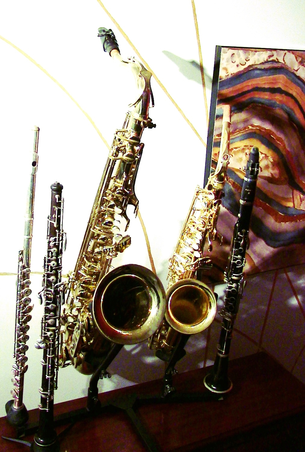 Woodwinds-Flute-Clarinet-Saxophone-Oboe-Bassoon