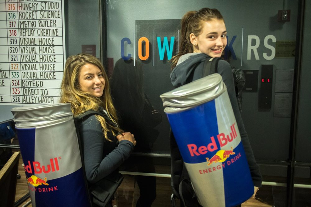 Team @redbullNYC is AWESOME. Thank you for coming by!