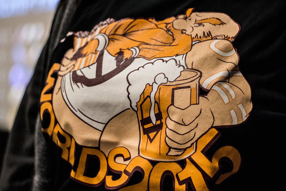 "Our ""Banned Gragas"" shirts (Designed by  @meowth )"