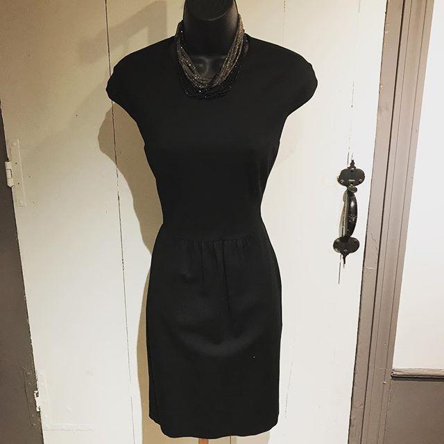 The Classic LBD 💃🏼 Need we say more? #shoplocal #shopmycloset #shopping #guilford #shopguilfordgreen #black #dress #classic #trina #turk #deandavidson