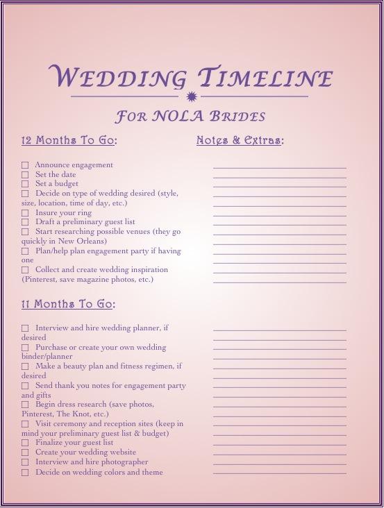 Wedding Checklist 3 Reasons Why You Need One NOLA Bride