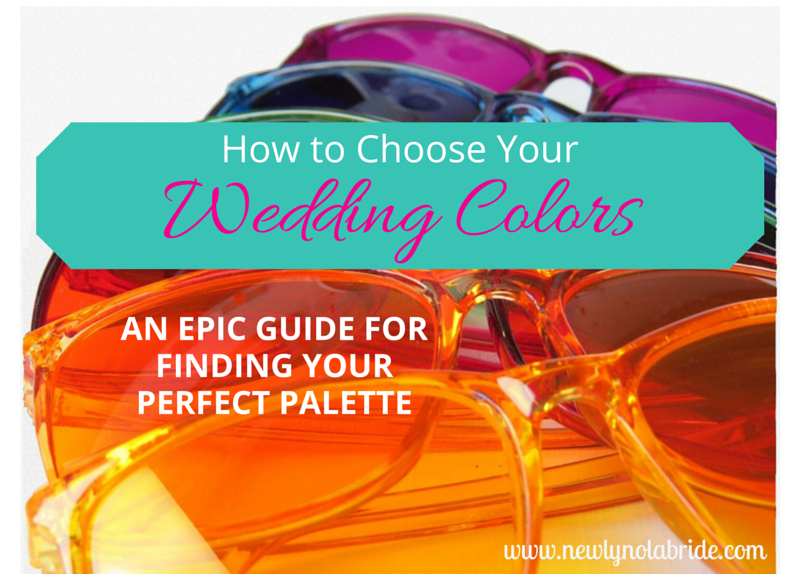 How to choose you wedding colors: an epic guide for finding your perfect palette.