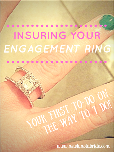 Insuring Your Engagement Ring: Your First To-Do On The Way To 'I Do!'