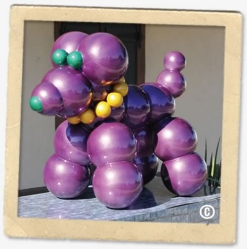 2008-2009 Haydel's Mardi Gras Bead Dog.  Proceeds donated to the LASPCA. |  Photo Credit