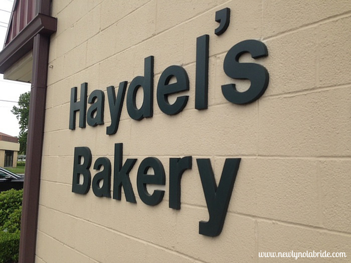 Haydel's Bakery- Home of the Mardi Gras Bead Dog Raffle.