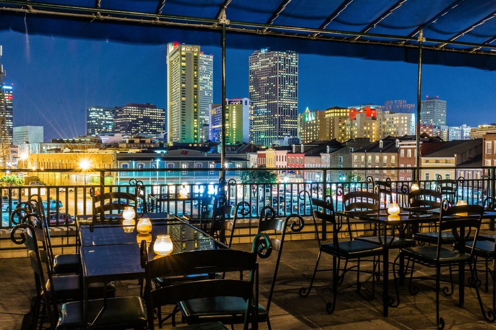 Pat O's on the River, view from the Grande Terrace. | Photo Credit